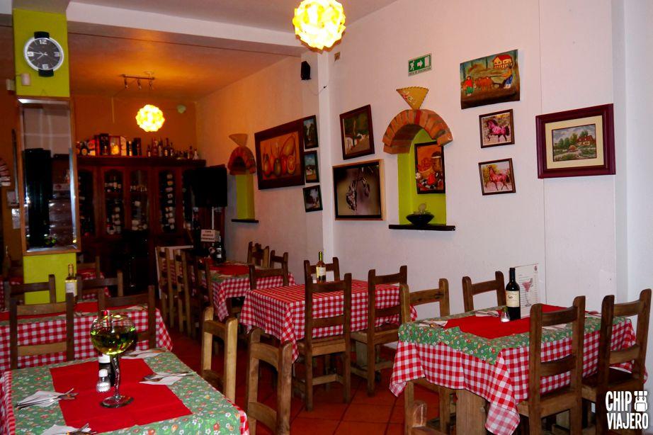 Chip Viajero - Restaurante Carnes y Olivas 1