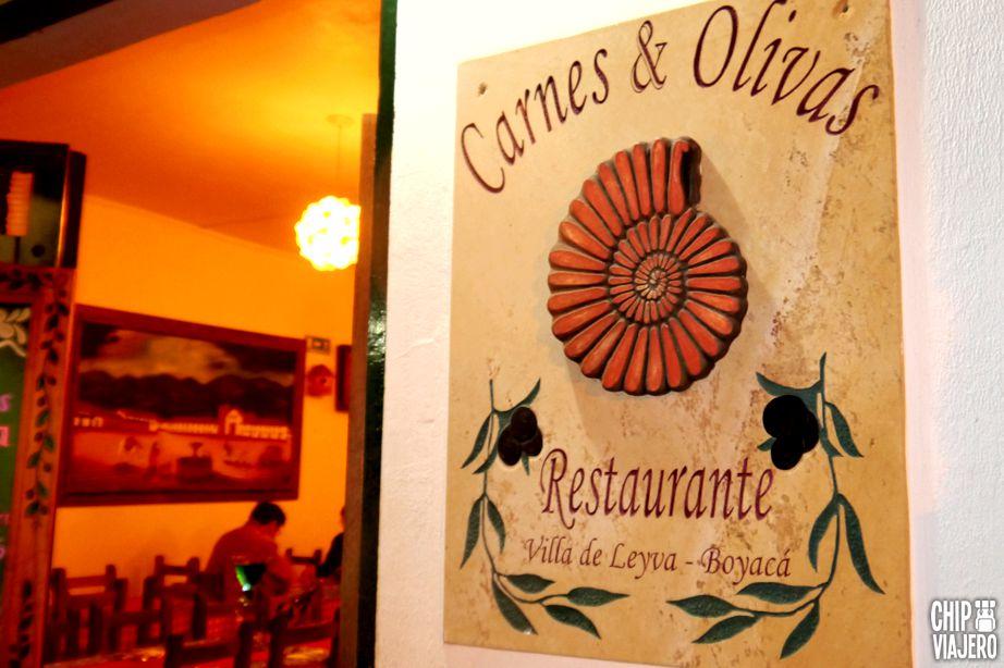 Chip Viajero - Restaurante Carnes y Olivas 2