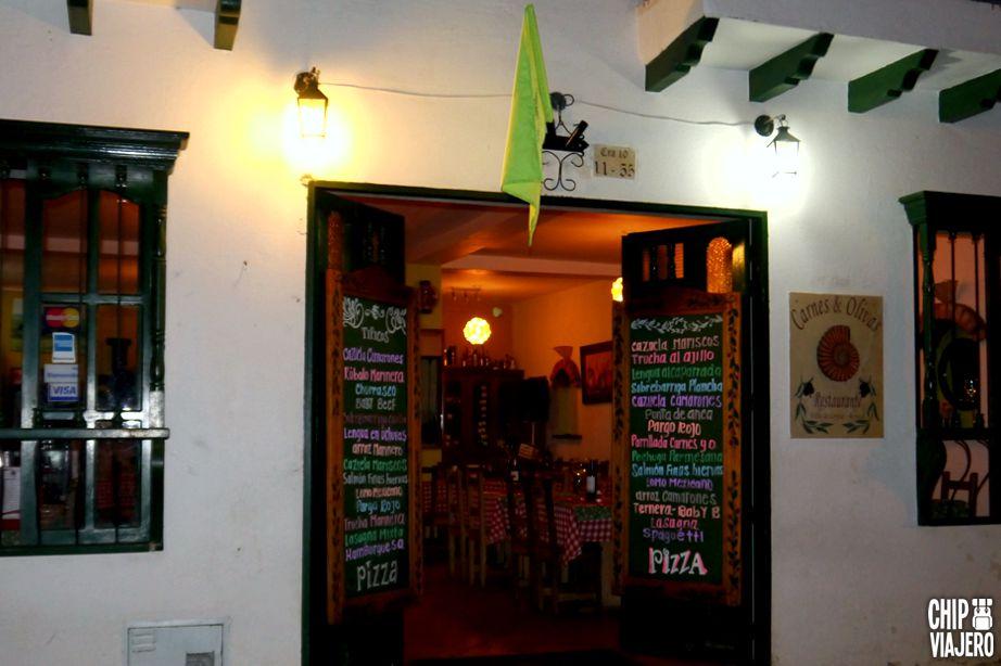 Chip Viajero - Restaurante Carnes y Olivas 3