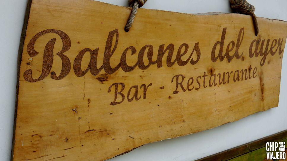 Restaurante Balcones del Ayer Chip Viajero