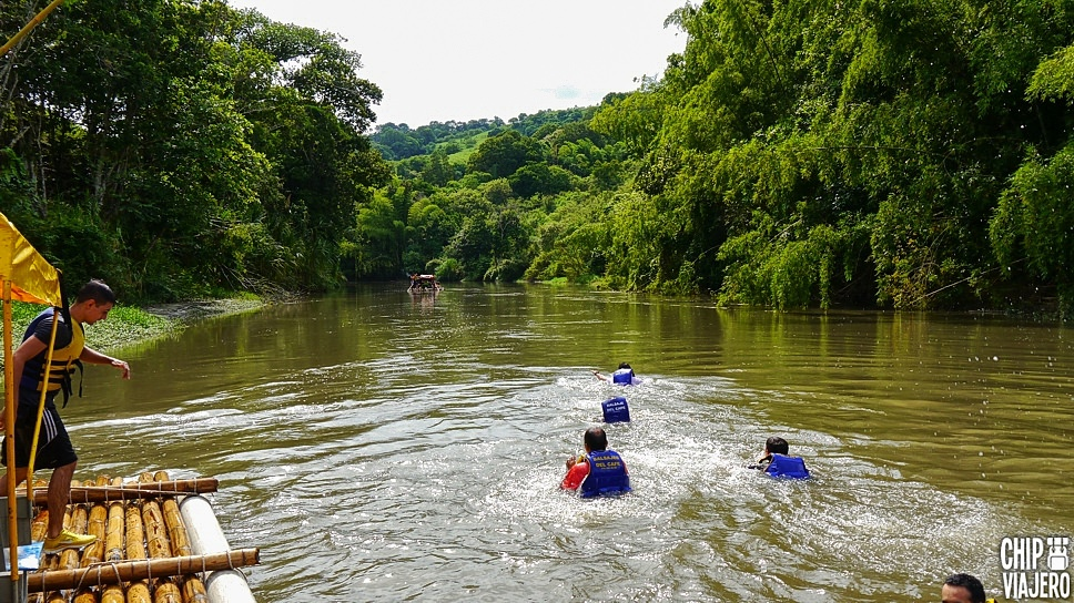 Balsaje Quimbaya Río La Vieja Quindío Como Llegar Chip Viajero