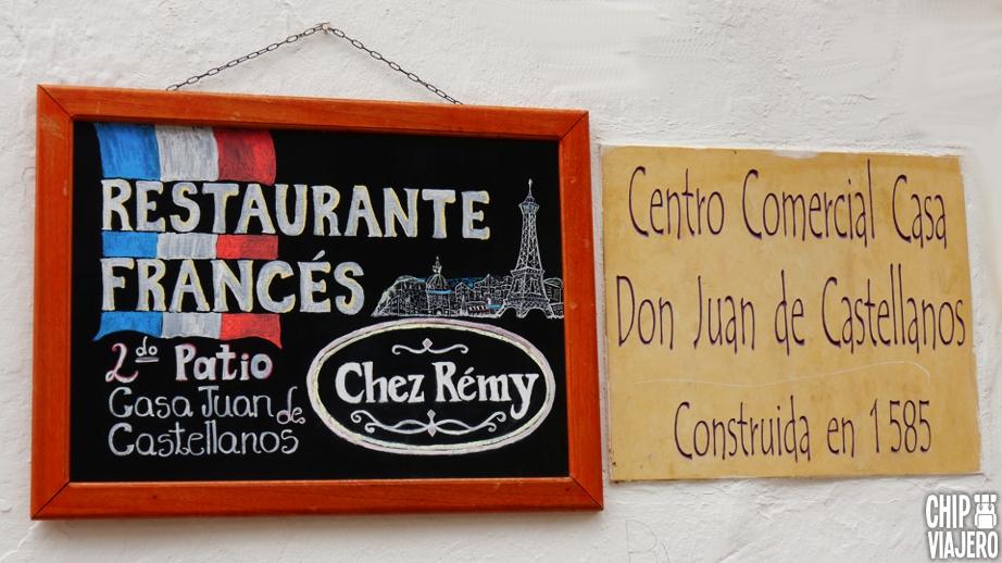 Chez Remy Restaurante Chip Viajero