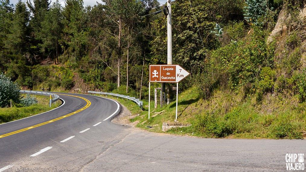 Como llegar a la laguna de Guatavita