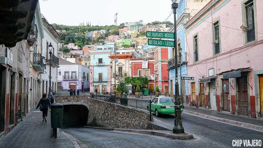 Guanajuato como llegar México