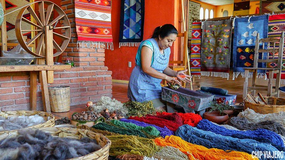 como llegar a Teotitlán del Valle Oaxaca