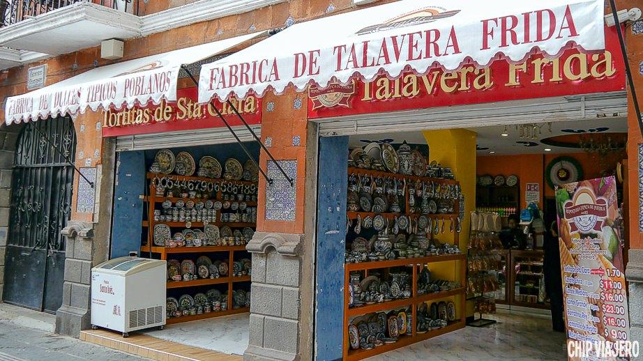 Dulces Típicos de Puebla y Talavera Mexicana