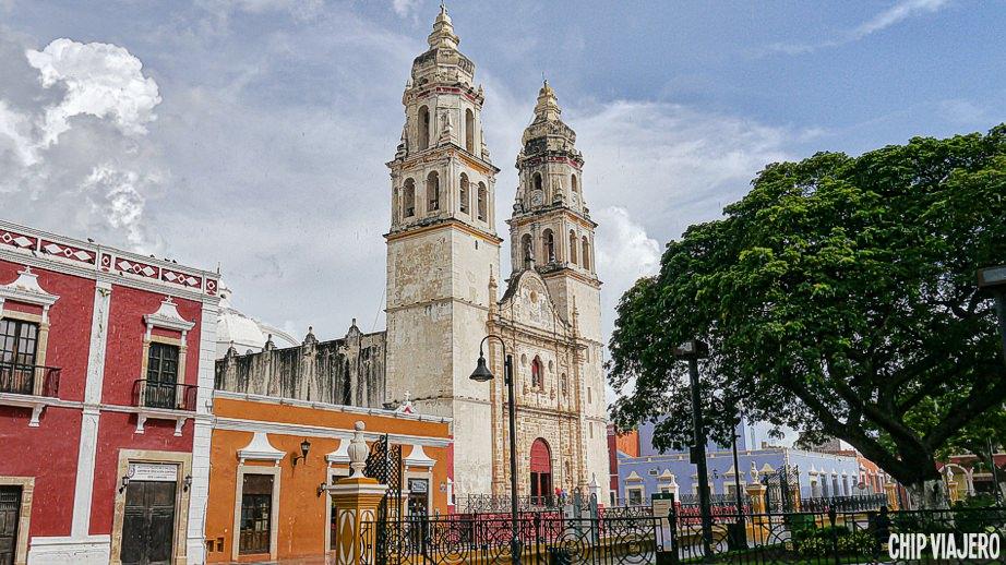 Campeche como llegar México